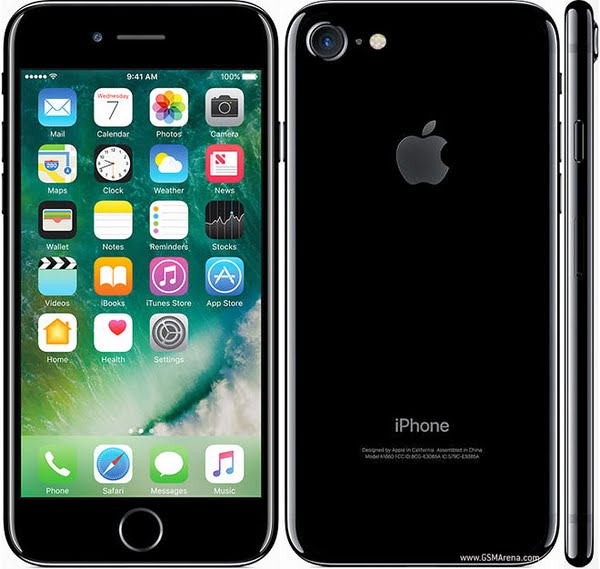 iPhone 7 Actual Size Image