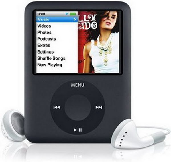 IPod nano 3rd Generation (2) Actual Size Image
