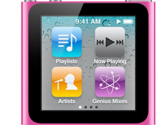 Ipod Nano 5th Actual Size Image
