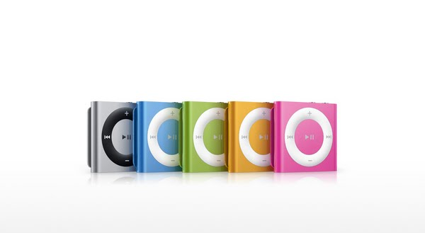 iPod Shuffle 4th Generation (2) Actual Size Image