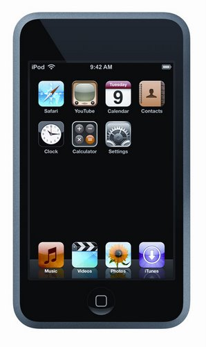 iPod Touch (2) Actual Size Image