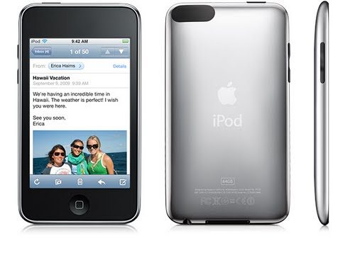 iPod touch 2nd/3rd generation Actual Size Image