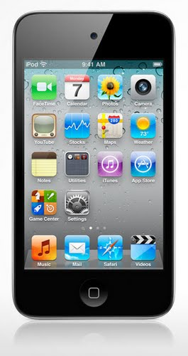 iPod Touch 4G (2) Actual Size Image