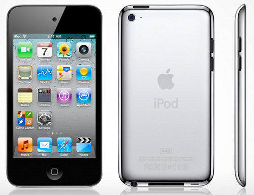 Ipod touch 4G (3) Actual Size Image