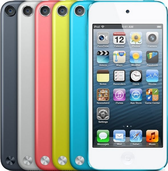 iPod Touch 5th Generation Actual Size Image