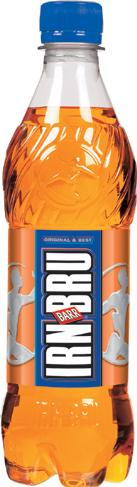 Irn Bru bottle Actual Size Image