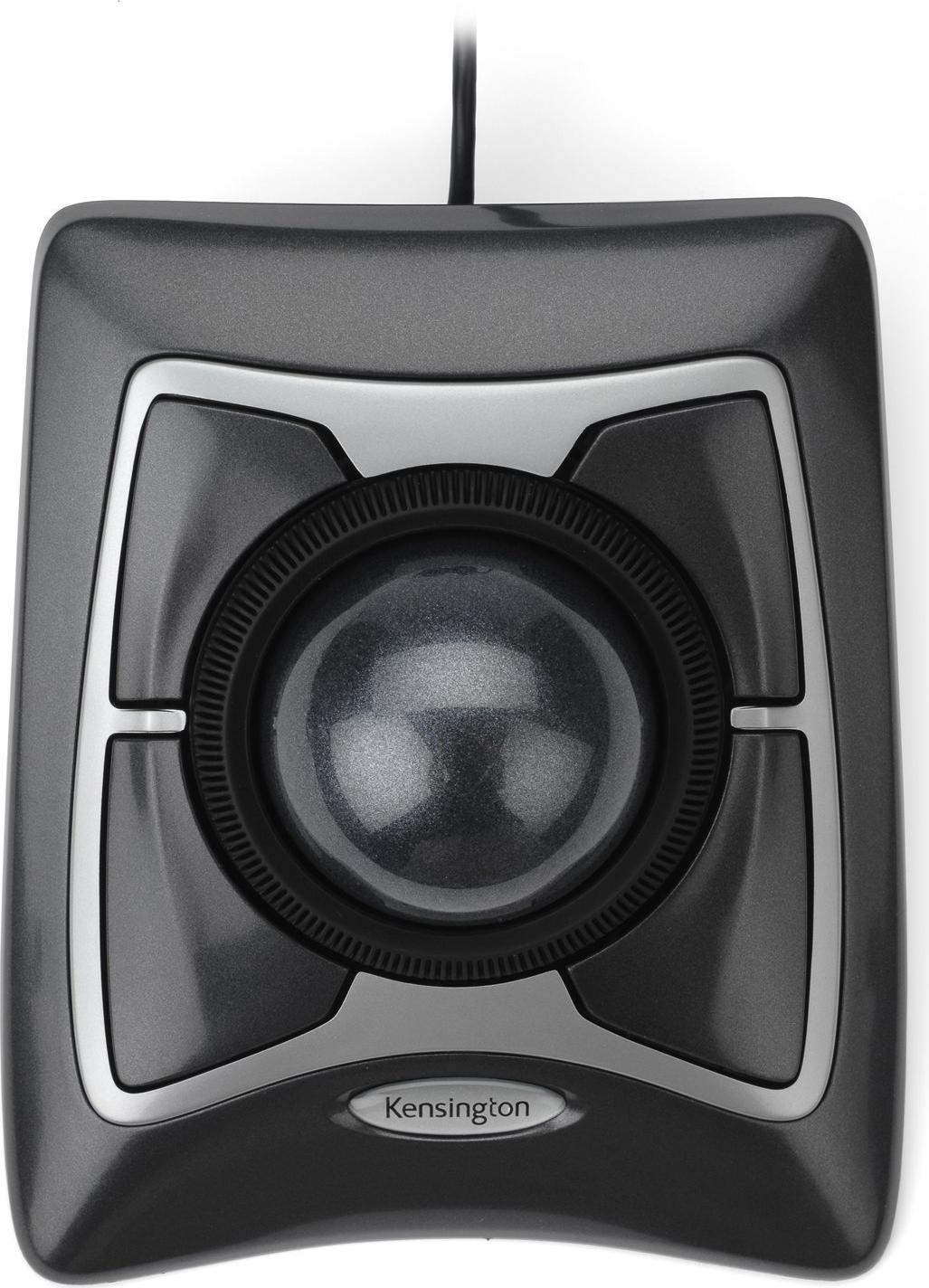 Kensington Expert Mouse Optical USB Trackball Actual Size Image