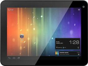 KOCASO M870 Tablet PC Actual Size Image
