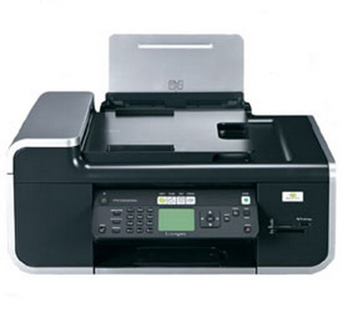 Lexmark X7675 Actual Size Image
