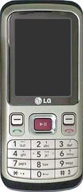 LG KM330 Actual Size Image
