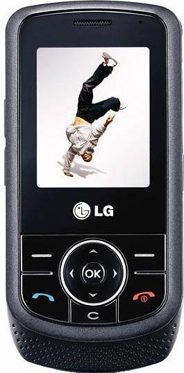 LG KP260 Actual Size Image