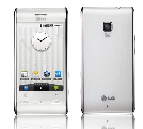 LG Swift GT540 Actual Size Image