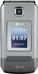 LG Trax CU575 Actual Size Image
