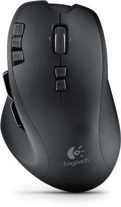 Logitech Gaming Mouse G700 Actual Size Image