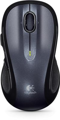 Logitech M510 wireless mouse Actual Size Image