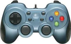 Logitech Rumble Gamepad F510 Actual Size Image