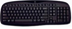 Logitech Wireless Desktop MK250 Actual Size Image