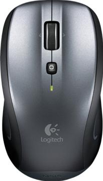 Logitech Wireless Mouse M515 Actual Size Image