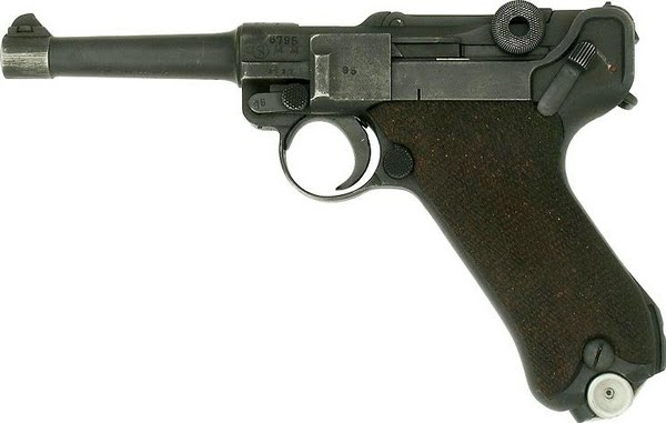 luger Actual Size Image