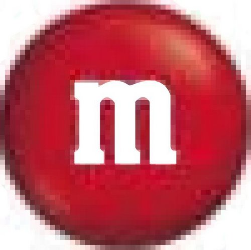 M&M Actual Size Image