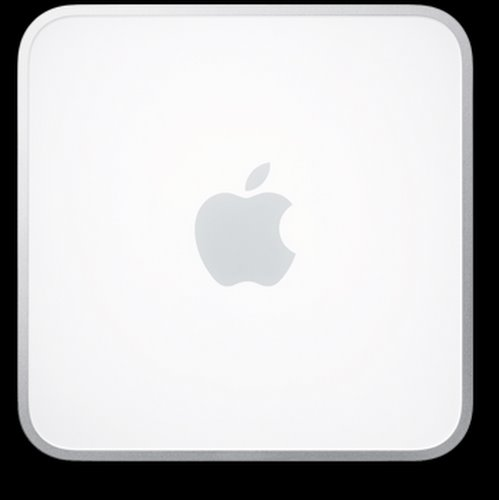 mac mini Actual Size Image