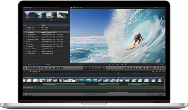 MacBook Pro with Retina Display 15'' (2) Actual Size Image