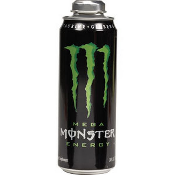 Mega Monster Can Actual Size Image