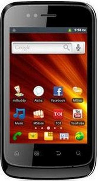 Micromax A45 Actual Size Image