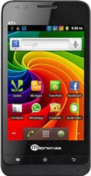 Micromax A73 Actual Size Image