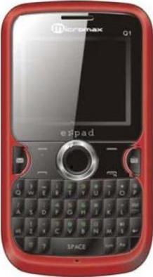 Micromax Q1 Actual Size Image