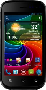 Micromax Smarty A68 Actual Size Image