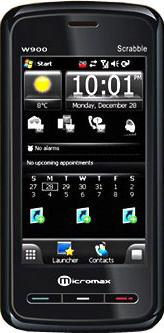 Micromax W900 Actual Size Image