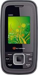 Micromax X220 Actual Size Image