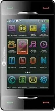 Micromax X600 Actual Size Image