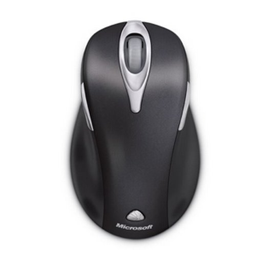 Microsoft Wireless Laser Mouse 5000 V1.0 Actual Size Image
