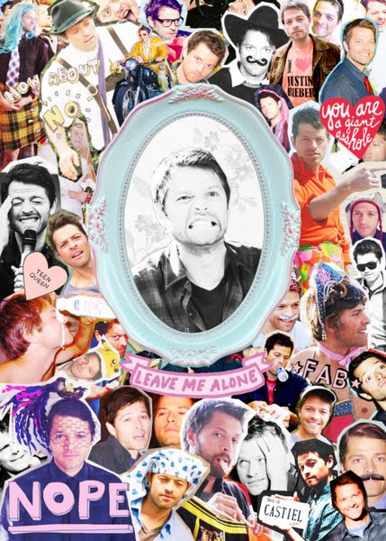 Misha Collins Collage Sized Poss Actual Size Image