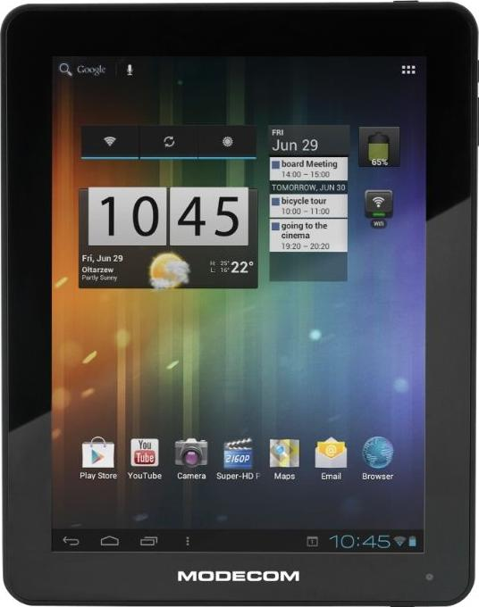 Modecom FreeTAB 9702 IPS Actual Size Image