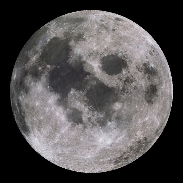 Moon Actual Size Image