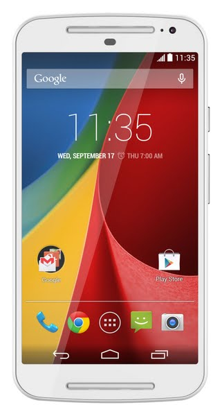 Moto G (2014) Actual Size Image
