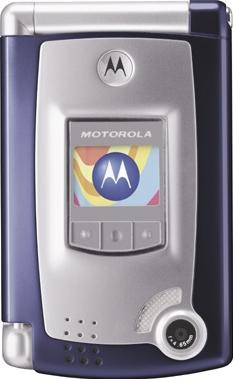 Motorola MPx Actual Size Image