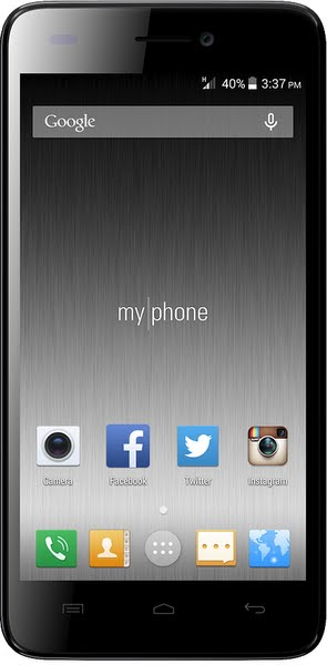 Myphone Infinity Lite - Micromax A290 Unite Anthem Actual Size Image
