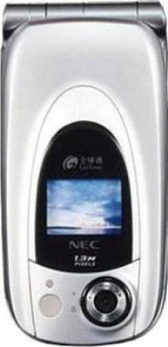 NEC N830 Actual Size Image