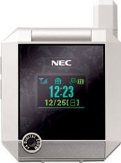 NEC N910 Actual Size Image