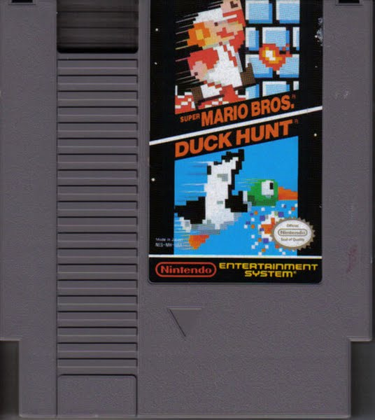 NES Nintendo Entertainment System Cartridge Actual Size Image