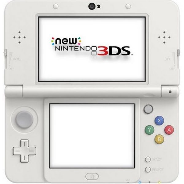New Nintendo 3DS Actual Size Image