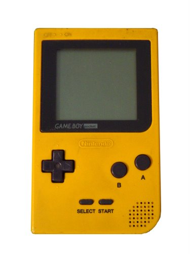Nintendo Game Boy Pocket (3) Actual Size Image
