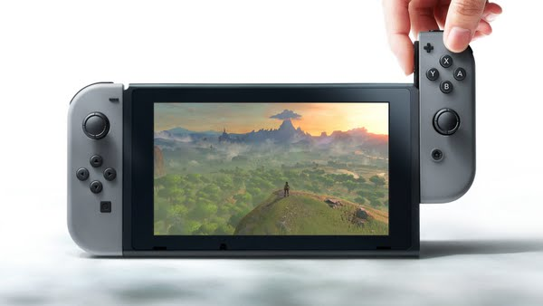 Nintendo Switch (Handheld Mode) Actual Size Image
