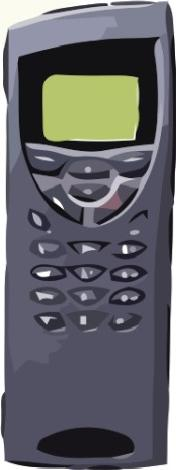 Nokia 9110i Communicator Actual Size Image