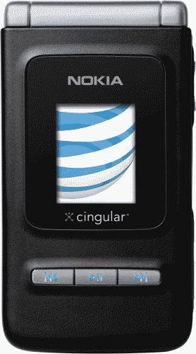 Nokia N75 Phone (AT&T) Actual Size Image