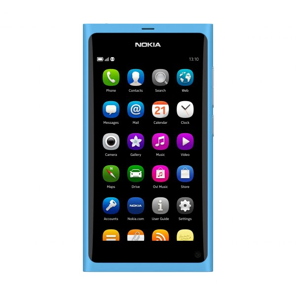 Nokia N9 Actual Size Image